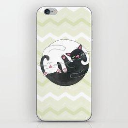 Cat Philosophy iPhone Skin