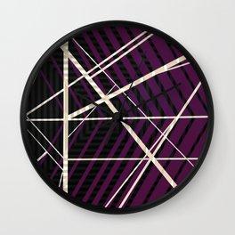 Crossroads - arrow Wall Clock