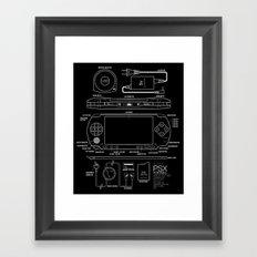 PSX Portable Framed Art Print