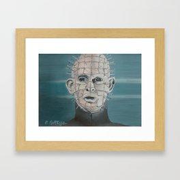 Pin Head Framed Art Print