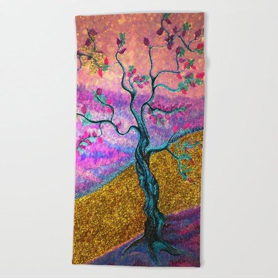 Gold River Beach Towel