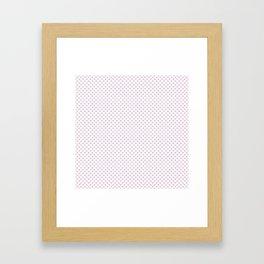 Twilight Polka Dots Framed Art Print