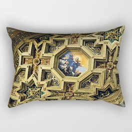 Basilica of Our Lady in Trastevere Rectangular Pillow