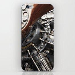 Airplane motor iPhone Skin