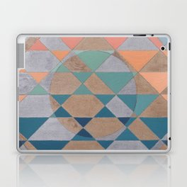Circles and Triangles Laptop & iPad Skin