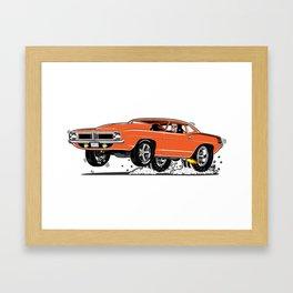 1972 Cuda Framed Art Print