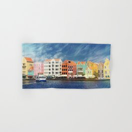 Willemstad, Curaçao Hand & Bath Towel