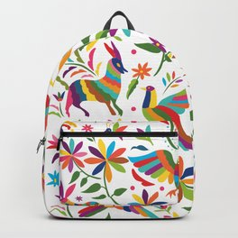 Mexican Otomí Design Backpack