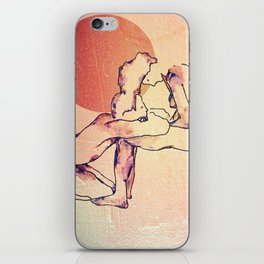 For J  iPhone Skin