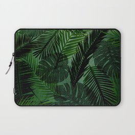 Green Foliage Laptop Sleeve