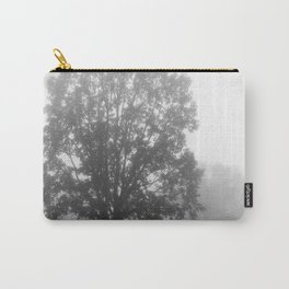 Trees on a Misty Morning Carry-All Pouch