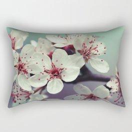 Cherry Blossom, Cherryblossom, Sakura, Vintage Style Rectangular Pillow