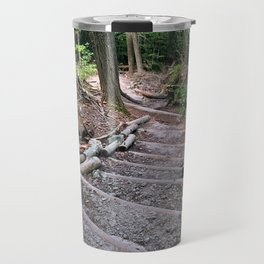 Forest Staircase Travel Mug