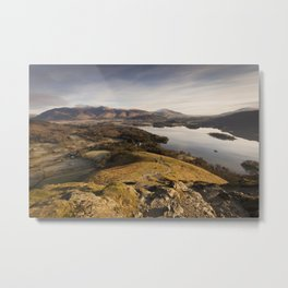 Cat Bells - Derwentwater Metal Print