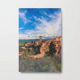 Assisi's View Metal Print