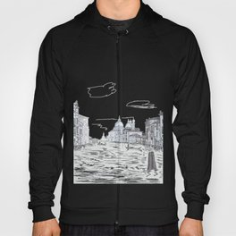 Venice . city on the water . Gift Ideas for Him . Hoody
