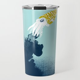 Intelligent Inker - Cranky Cuttlefish Travel Mug
