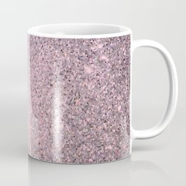 Rose Pink Quartz Sparkling Jewels Pattern Coffee Mug