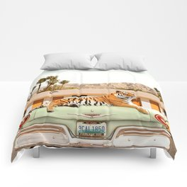Tiger Motel Comforters