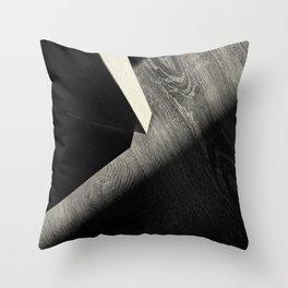 Shadow Light Door Abstract One Throw Pillow