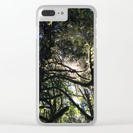 Light through branch Clear iPhone Case