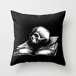 The Reality Dies Throw Pillow