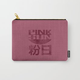 Pink Sun - Dark Carry-All Pouch