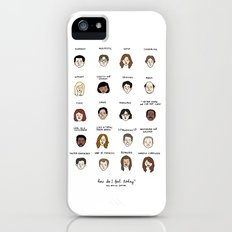 The Office Mood Chart Slim Case iPhone (5, 5s)