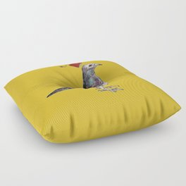 Unflappable Floor Pillow