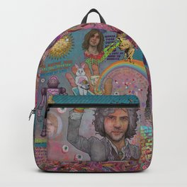 The Flaming Lips - Fear Of Slippery Brains, Electric Toasters & Evil Natured Robots From Outer Space Backpack