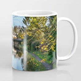 Towpath Into Hungerford Coffee Mug
