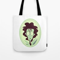 edward scissorhands Tote Bags featuring Edward Scissorhands by Bauimation