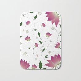 Lotus Flower Bath Mat