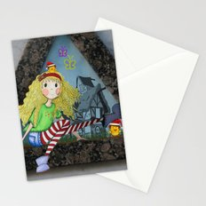 modern heidi Stationery Cards