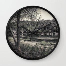 Sleepy River Wall Clock