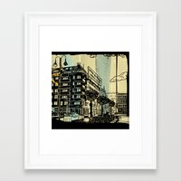 freud Framed Art Prints featuring Freud II. by Zsolt Vidak