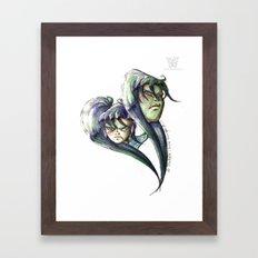 LM x LM Framed Art Print