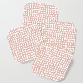 Dots / Pink Coaster