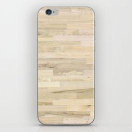 rustic wood iPhone Skin
