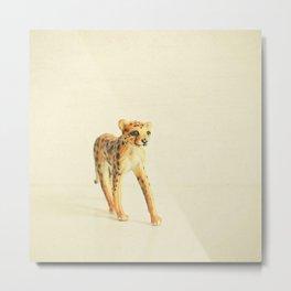 Catwalk Cheetah Metal Print