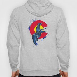 CO Standing Bear- Wild World Of Paper Series Hoody
