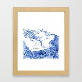 Water Nymph LXVII Framed Art Print