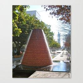 Modern Fountain  Canvas Print