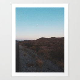 A Journey Across The States Art Print