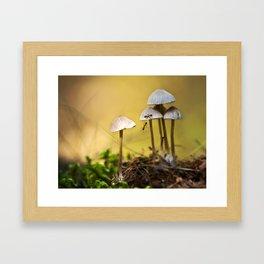 With a little help Framed Art Print