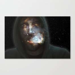 Midnight Toker Canvas Print