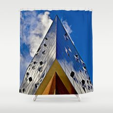 When music touches the sky Shower Curtain