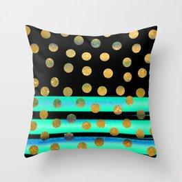 NL 9 10 Polka Dots Throw Pillow