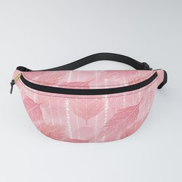 Boho Blush and Beads - Pink Fanny Pack