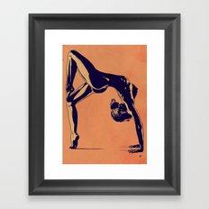 Contortionist  Framed Art Print